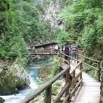 Also visit Vintar gorge near Bled