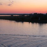 Beautiful Sunset on St. Lawrence River