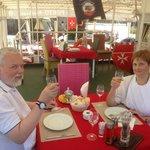 Birthday at Porto Maltese with Dom Perignon.