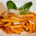 Traditional Italian Pasta with Amatriciana