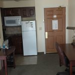 Kitchenette and work area