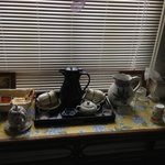 Teas in the entry hall