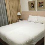 Спальня - небольшая, но отдельная!