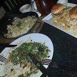 I always order 3plates of food :p