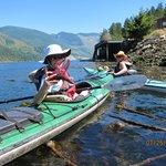 Kayak tour with Katherine