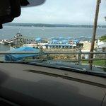 Salt water pool / harbor view