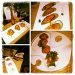 Patacones, Greek Dips, Mussels Provenzal & Cassava Cakes