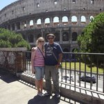 Alexander and me at the Colesseum!