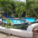 piscinas del hotel escuela