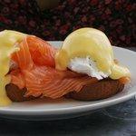 Eggs Royal. Delish.