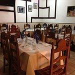 Inside eating area