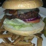 Angus bacon burger
