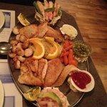 assiette poisson/fruits de mer