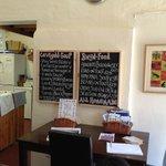 Caffi Padarn,menu