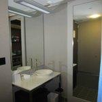 Shower reminiscent of luxury hotel