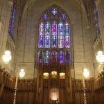 Inside Duke Chapel