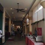 pedestrian way e buffet albergo