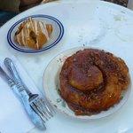 Oh yeah - try the caramel walnut bun!!!!!!!!