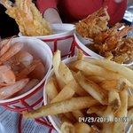 mixture style shrimp