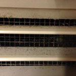 Dirt and Mold in air conditioning unit