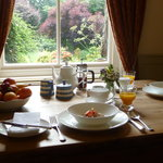 Choose from a selection of breakfasts, including a hearty Yorkshire breakfast or continental for