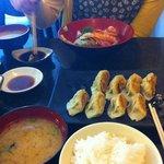 Dumplings and Kaisen don