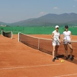 our tennis clay court