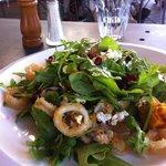 Fantastic calamari salad