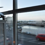 Our quayside view
