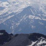 Vue Mont Blanc depuis le désert de Platé