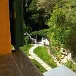 La vista dalla mia camera.. un angolino di paradiso!