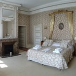 OUr stunning room (Chambre 14) in the main Chateau - Couldnt fault it (other than it had no air