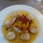 main course scallops