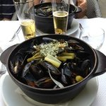 moules frites !!