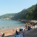 Oddecombe Bay looking at Babbacombe Bay