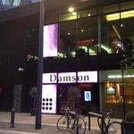 Damson, exterior