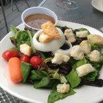 Side salad @ Dockside Seafood & Grill