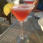 Pomegranate Martini @ Dockside Seafood & Grill