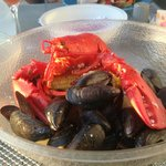 Lobster with Mussels @ Dockside Seafood & Grill