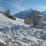 what a landscape in Alpbach