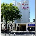 Two of Accor's Hotels in the same block, Mercure and Ibis