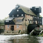 Houghton Mill from the pond.