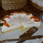 Une douceur élaborée par Cristina (ou CRIS car il y a 2 Cristina) Un gâteau Bavarois au yoghourt