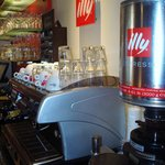 To enjoy from the best Illy coffee
