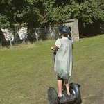 segway in the park