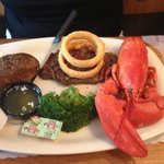 $20 Lobster and steak Special