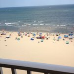 View of the beach from Unit 1106