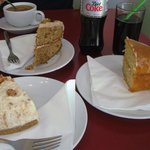 Post walk cake - yummy!