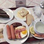 Москва. ГУМ. Столовая №57. Breakfast