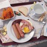Мой очередной завтрак (breakfast) :-)